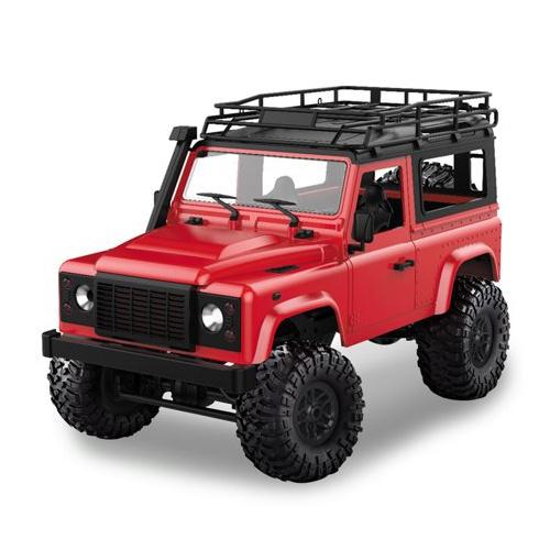 D90 Rock Crawler Defender 1:12, 4WD, 2,4 GHz, LED, 100% RTR, červená
