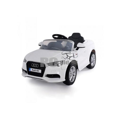Audi A3 S-Line v bílé barvě