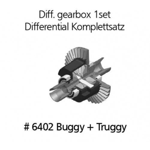 6402 Deferenciál - kompletní sada