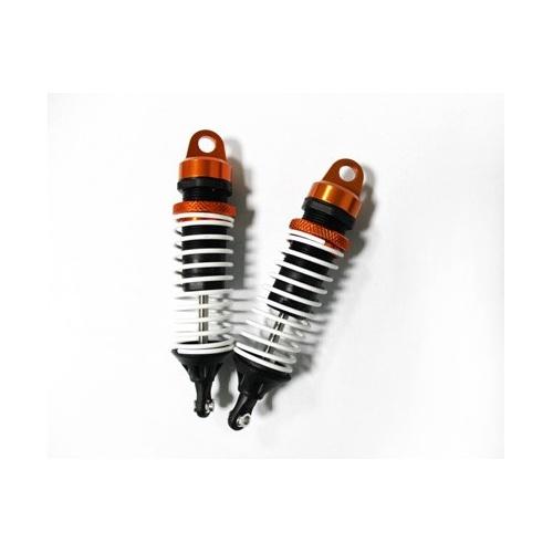 Tlumiče hliníkové - oranžové