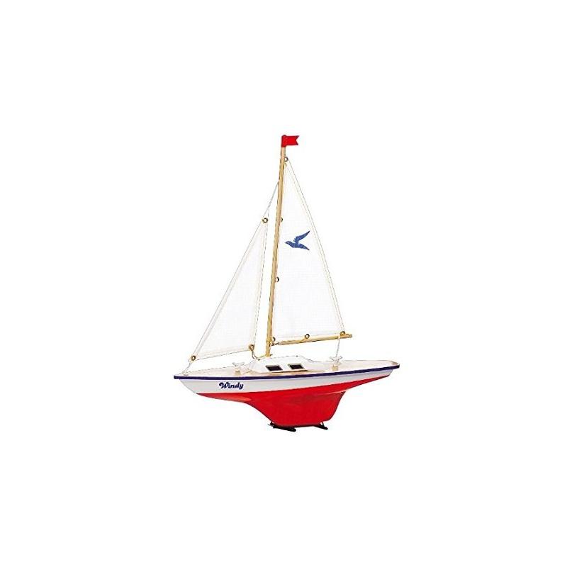 Model plachetnice pro děti WINDY 35 x 42 cm (dřevo)