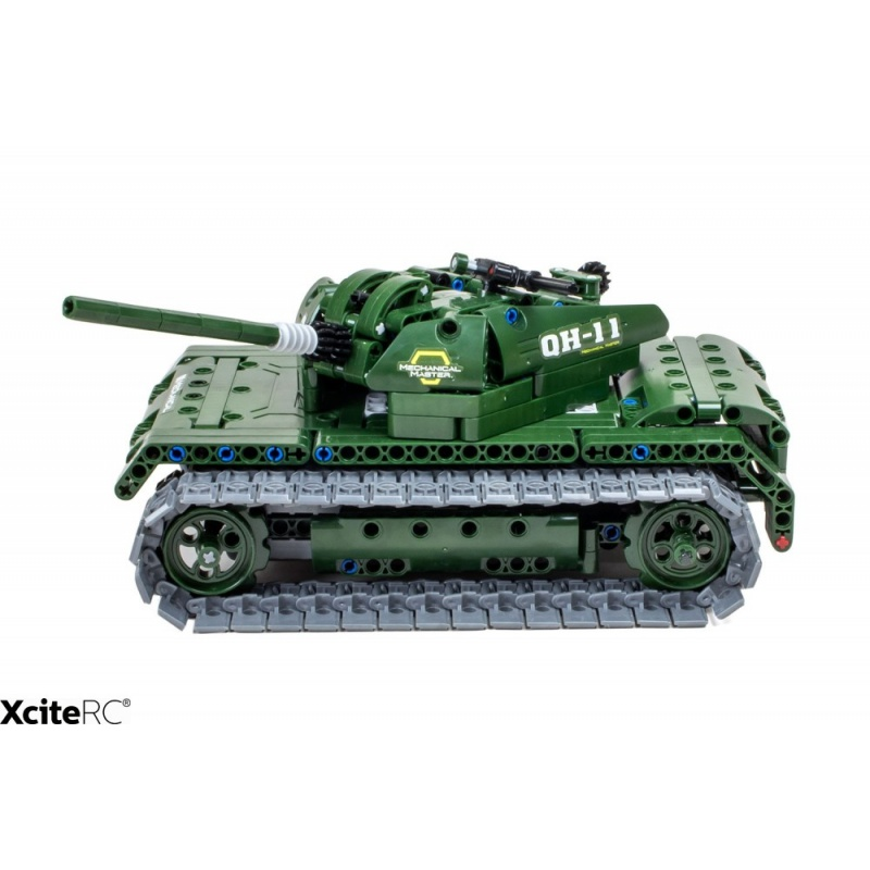 RC vojenský tank TEKNOTOYS ACTIVE BRICKS
