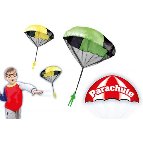 Padák s parašutistou - vícebarevný
