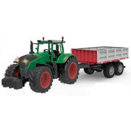 Vozík s el. sklápěním za traktor FENDT a DOUBLE E 1:16