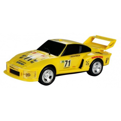 Model Porsche Turbo 935 - žlutý 1:43
