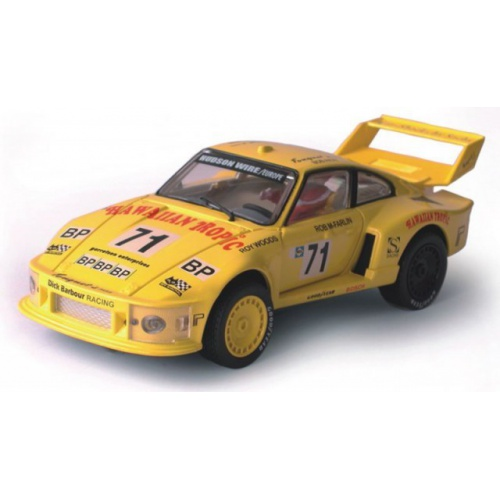 Model Porsche Turbo 935 - žlutý