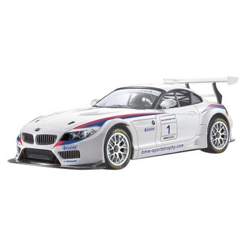 RC auto BMW Z4 GT3 BÍLÉ