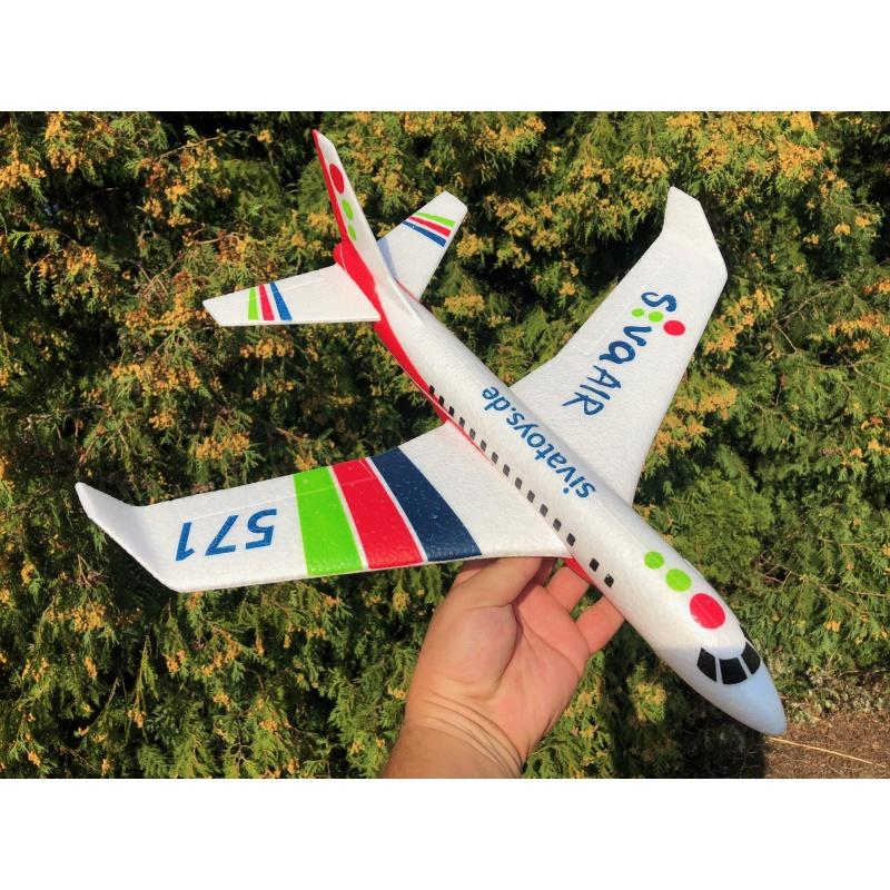 Siva Air 571 - Červené házedlo z EPP dopravní letadlo
