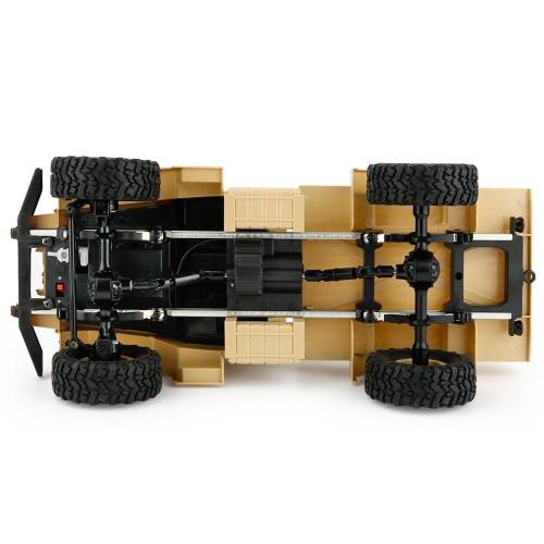 Vojenský truck 1:16 pískový