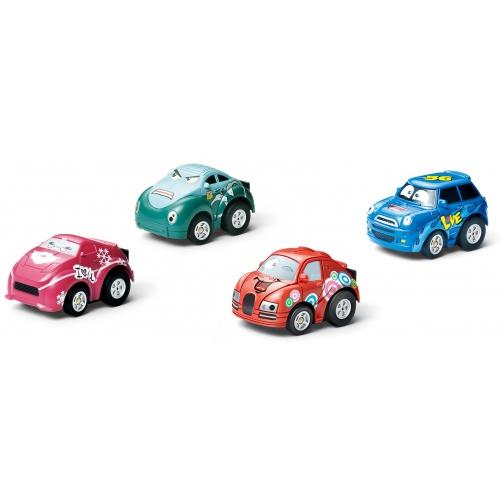 RC Mini Smart 2in1 - AUTOHODINKY- ČERVENÝ