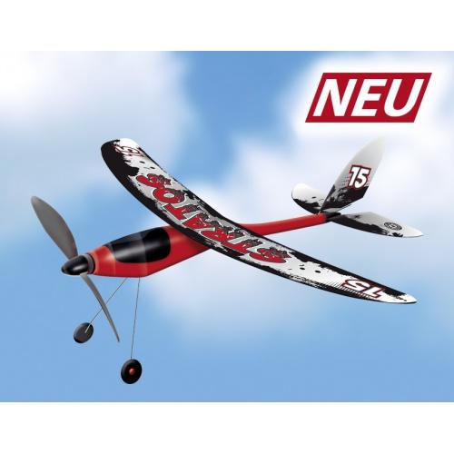 Letadlo na gumu STRATOS 53x50 cm