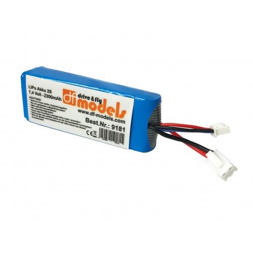 Baterie 2S LiPo 7,4V 2300 mAh (pro SkyWatcher race 9180)