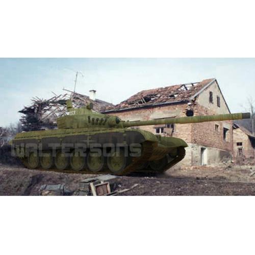 BRITISH CHALLENGER 1 1:72- soubojový tank v excelentní ručně malované kamufláži