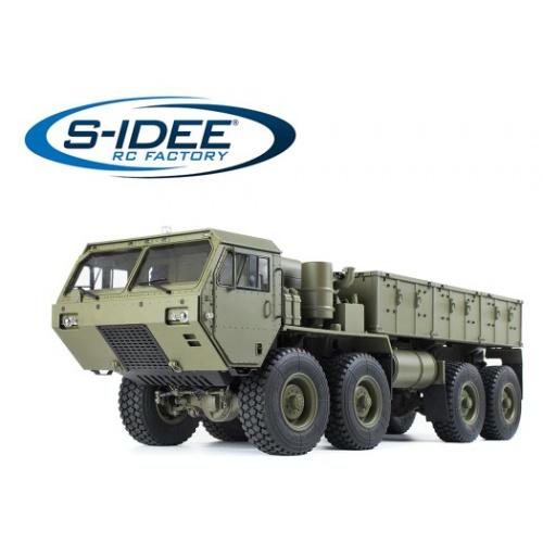 MilitaryTruck 1:12 RTR zelený 8x8
