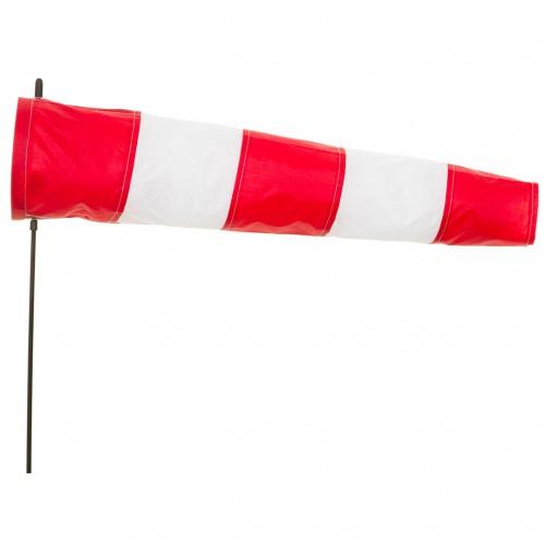 Větrný pytel 100 cm sada, červenobílý