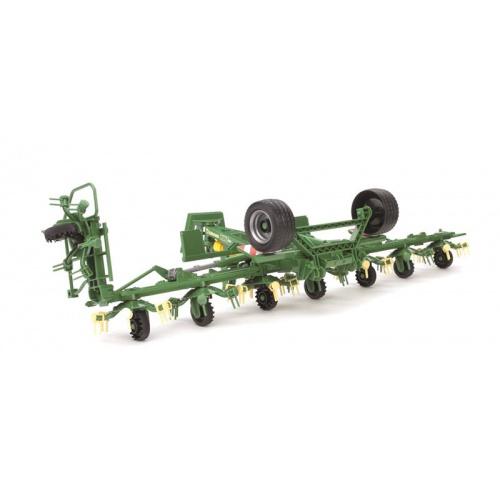 Přívěs KRONE na shrabování sena 1:16 za traktor CLAAS 1:16