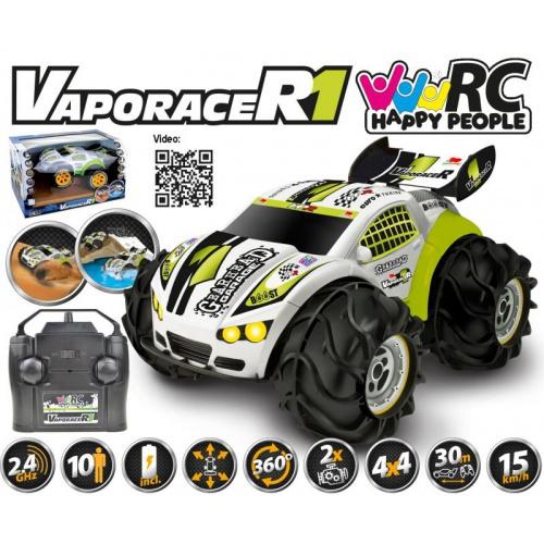 VaporaceR1 Amphibious 4x4 2,4Ghz RTR včetně všech baterií do vody a sněhu!