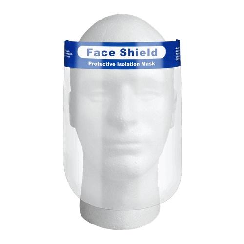 Kvalitní celoobličejový ochranný štít PROFI