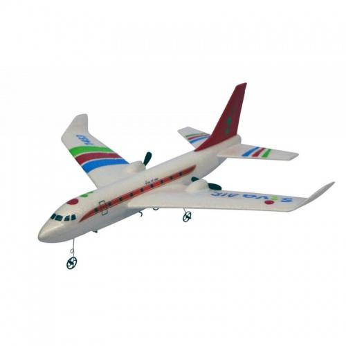 RC Airbus RTF s gyroskopickou stabilizací, 2,4 GHz červený