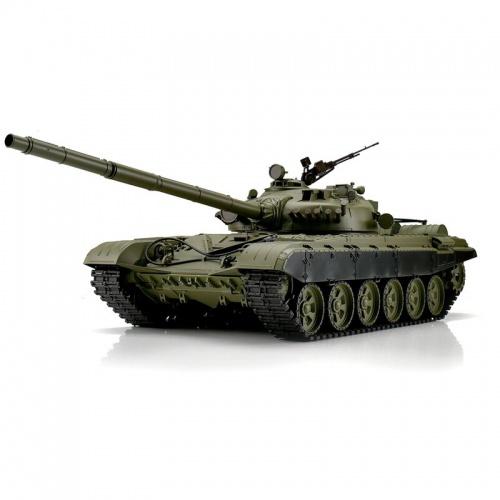 RC tank T-72 BB+IR 1:16 s kovovými pásy a převodovkami RTR
