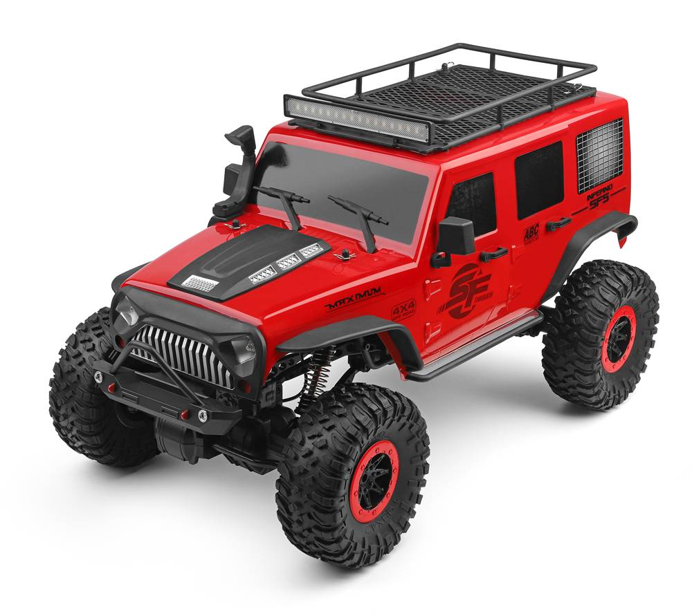 Jeep Crawler 4WD, 1:10, 2,4 GHz, LED rampa, RTR