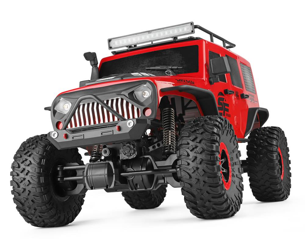 Jeep Crawler 4WD, 1:10, 2,4 GHz, LED rampa, RTR