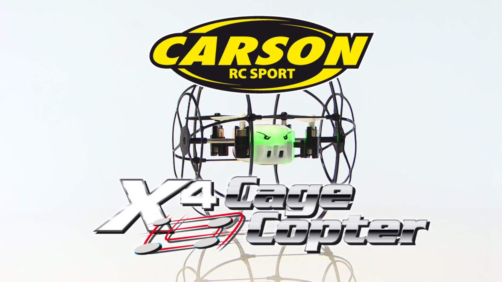 X4 Cage Copter 2.4 GHz, 100% RTF