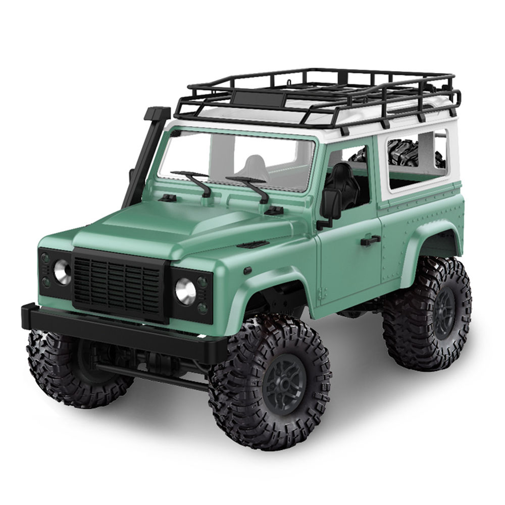 D90 Rock Crawler Defender 1:12, 4WD, 2,4 GHz, LED, 100% RTR, zelená