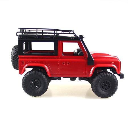 D90 Rock Crawler Defender 1:12, 4WD, 2,4 GHz, LED, 100% RTR, proporcionální jízda, červená