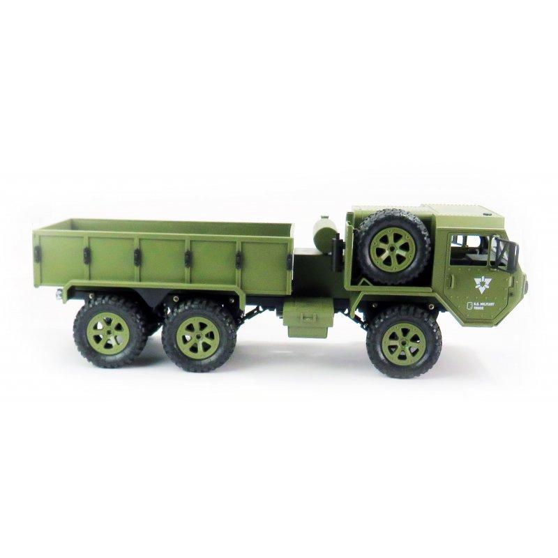 U.S. Military Truck proporcionální s WiFi kamerou, 1:12, 6WD, 2,4 GHz, LED, RTR