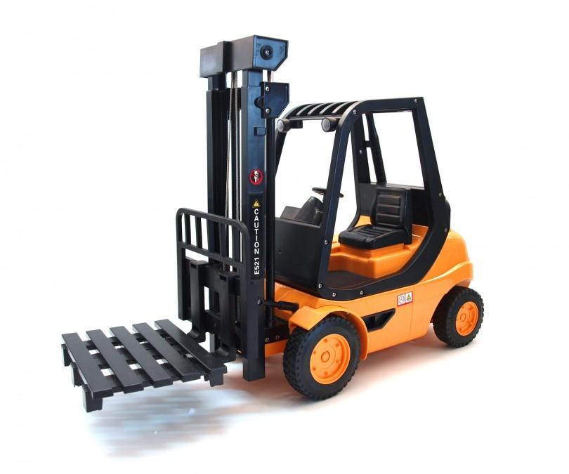 Vysokozdvižný vozík 1:8, 2,4 GHz, LED, funkcní vidlice, RTR