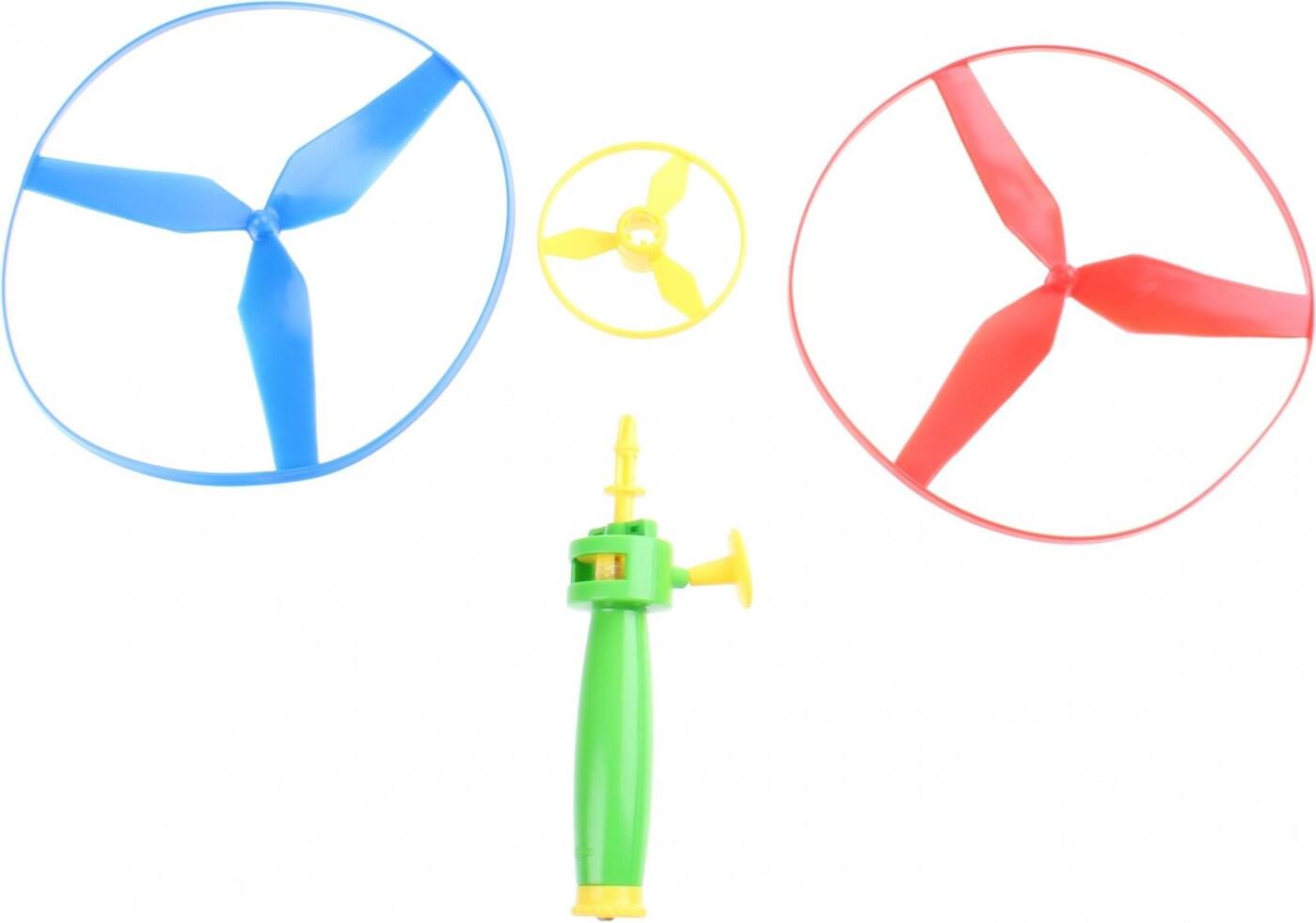 TWIRLY vystřelovací vrtulky, 3 kusy s odpalovačem