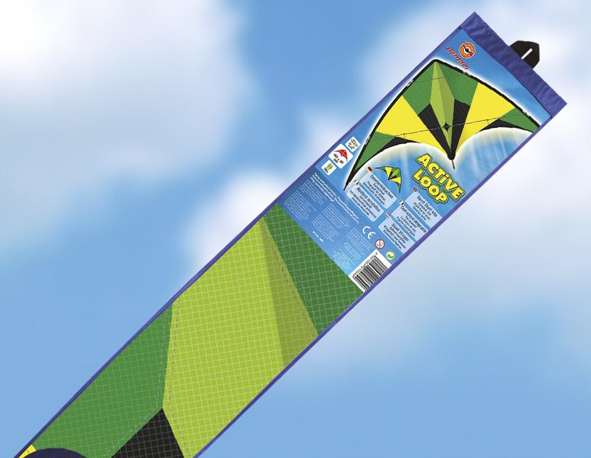 ACTIVE LOOP řiditelný drak, 160x80 cm