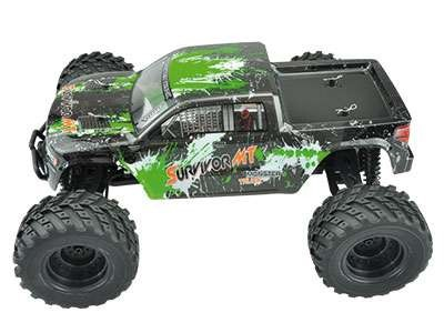 EVO 4M 4WD Monster truck 1:12 AMX Racing - zelený