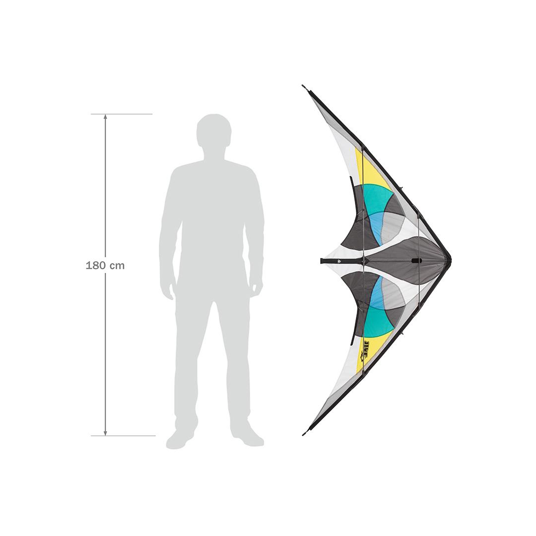 Jive III Aqua PROFI 196 cm, řiditelný, Ripstop-Polyester