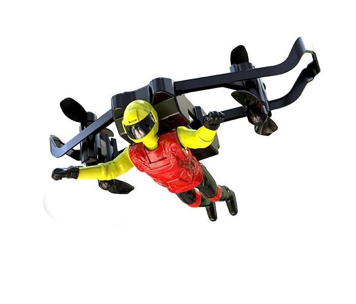 Jetman U65, létající muž, 2,4 GHz, RTF