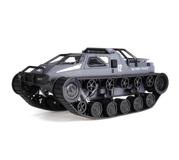 MILITARY POLICE pásové vozidlo 1:12, 2,4 GHz, RTR, šedá