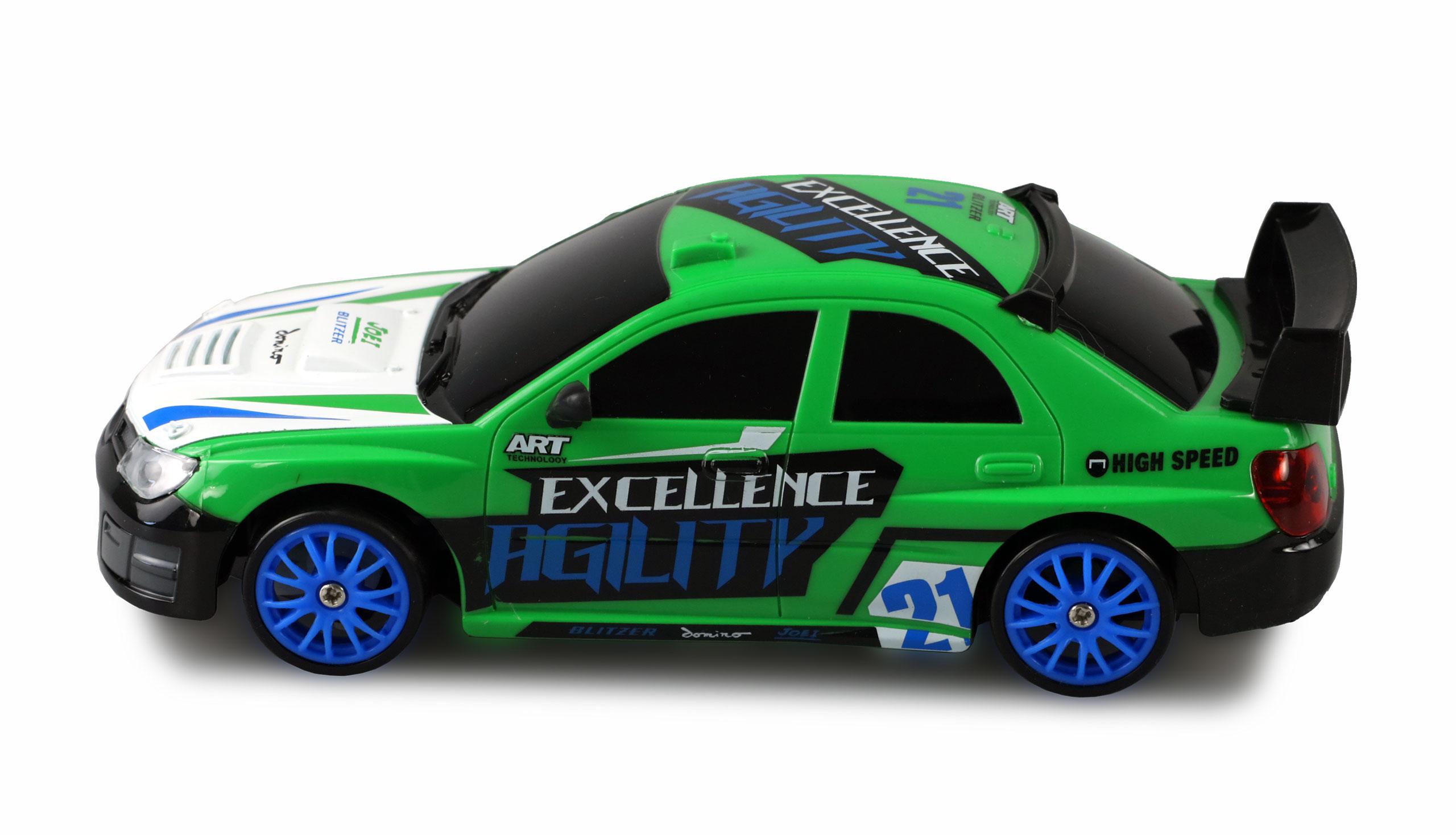 Drift Sport Car Subaru Impreza, 4WD, 1:24, 2,4 GHz, RTR