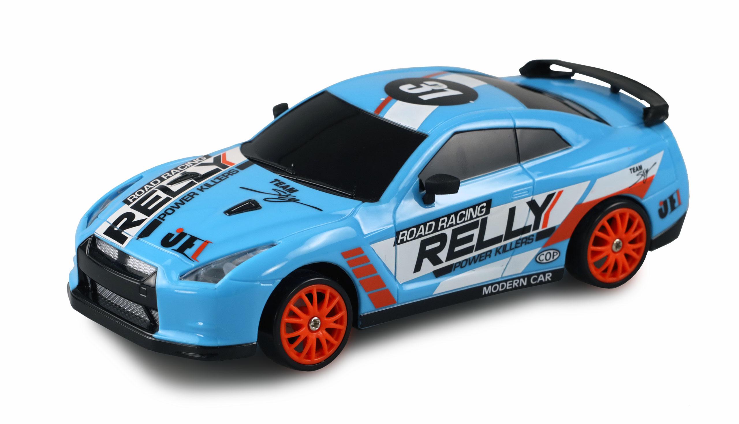 Drift Sport Car Nissan Skyline GT-R, 4WD, 1:24, 2,4 GHz, RTR