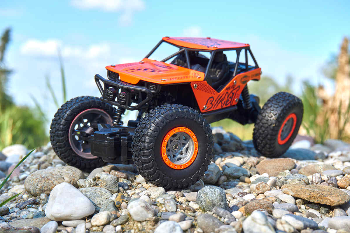 CARSON MICRO Beast Crawler, 2,4 GHz, 2WD, 1:18 100% RTR