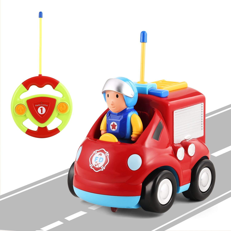 RC hasičské auto pro nejmenší, LED a zvukové efekty