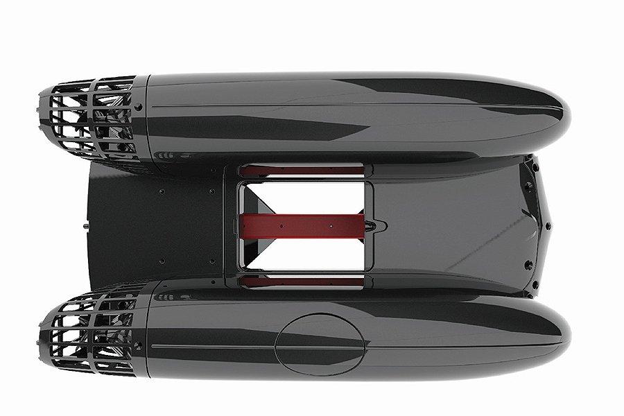 Zavážecí loď B2500 pro 2,5 kg krmiva, 2,4 GHz, RTR, brushless,  s přepravní taškou