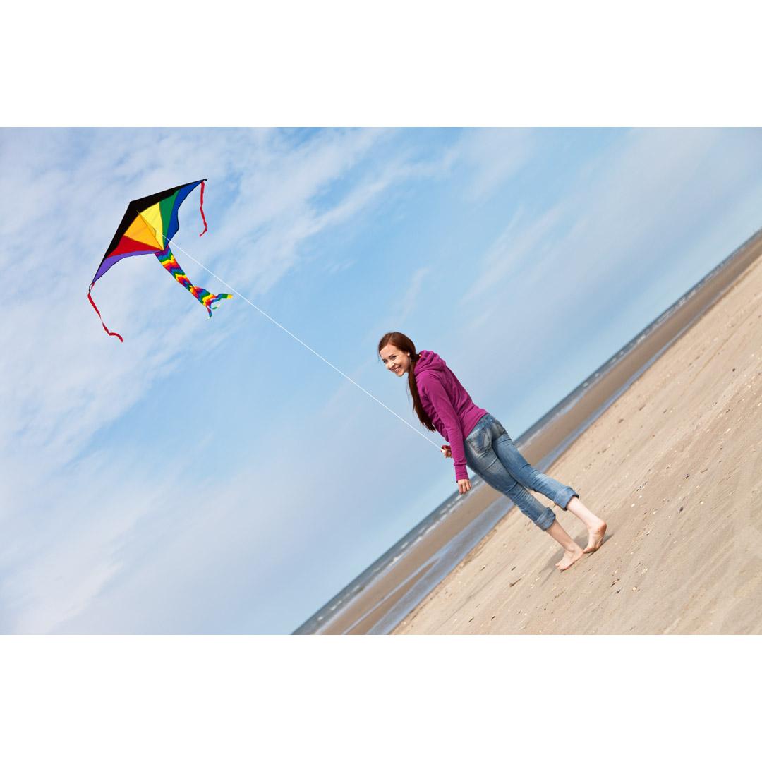 Ecoline Simple Flyer Rainbow 120cm