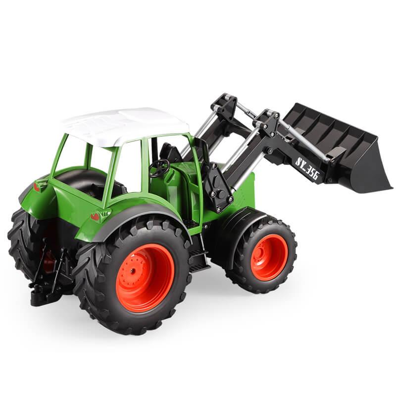 FARM TRAKTOR 1:16, 2,4 GHz, s funkční lžící, RTR