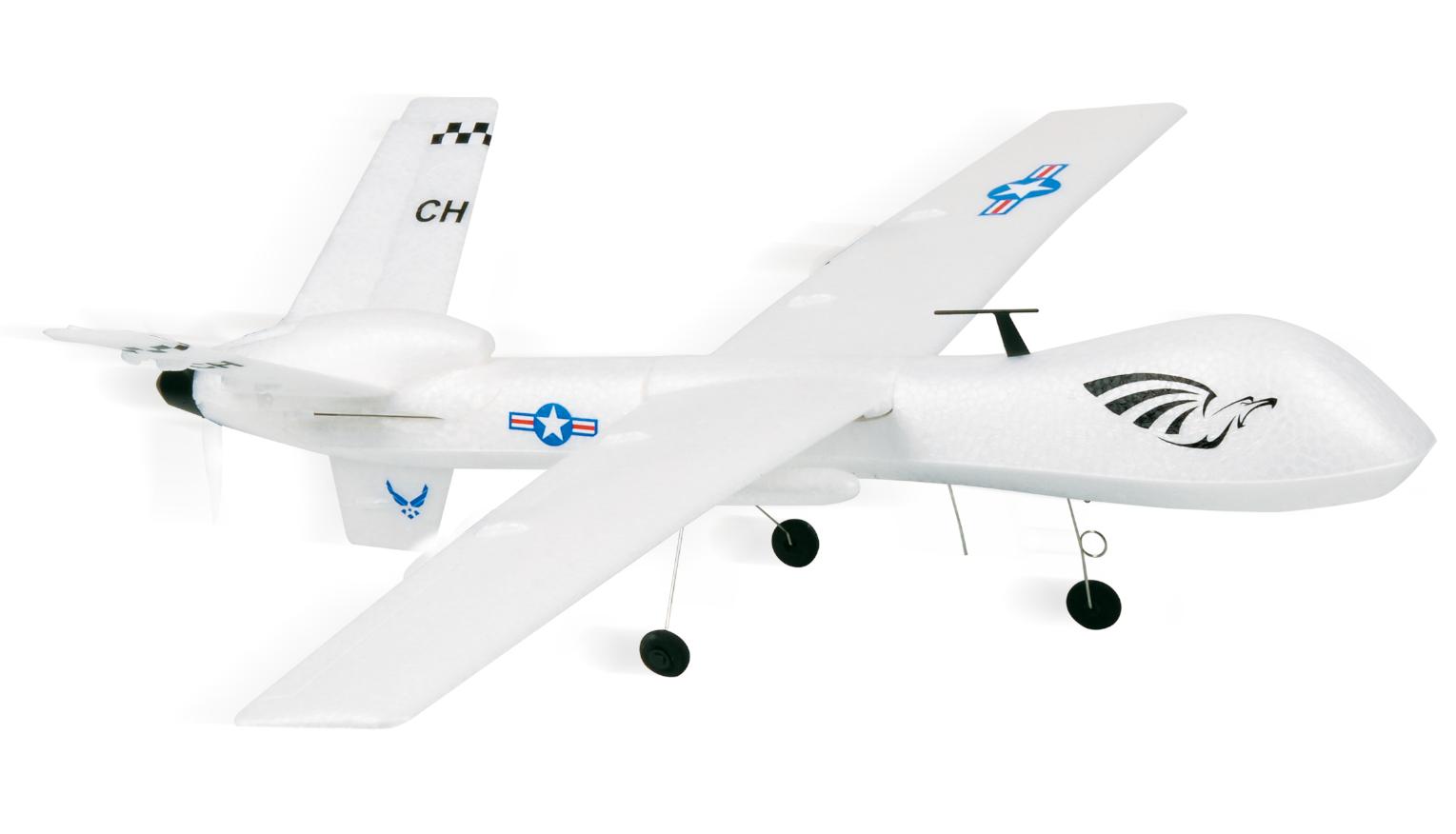 MQ-9 Reaper/Predator se stabilizací maketové RC letadlo, 2,4 GHz, EPP, RTF