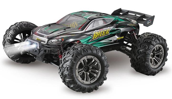 SPIRIT RACER truggy 4WD, 1:16, 2,4 GHz, rychlost až 36 km/h, RTR