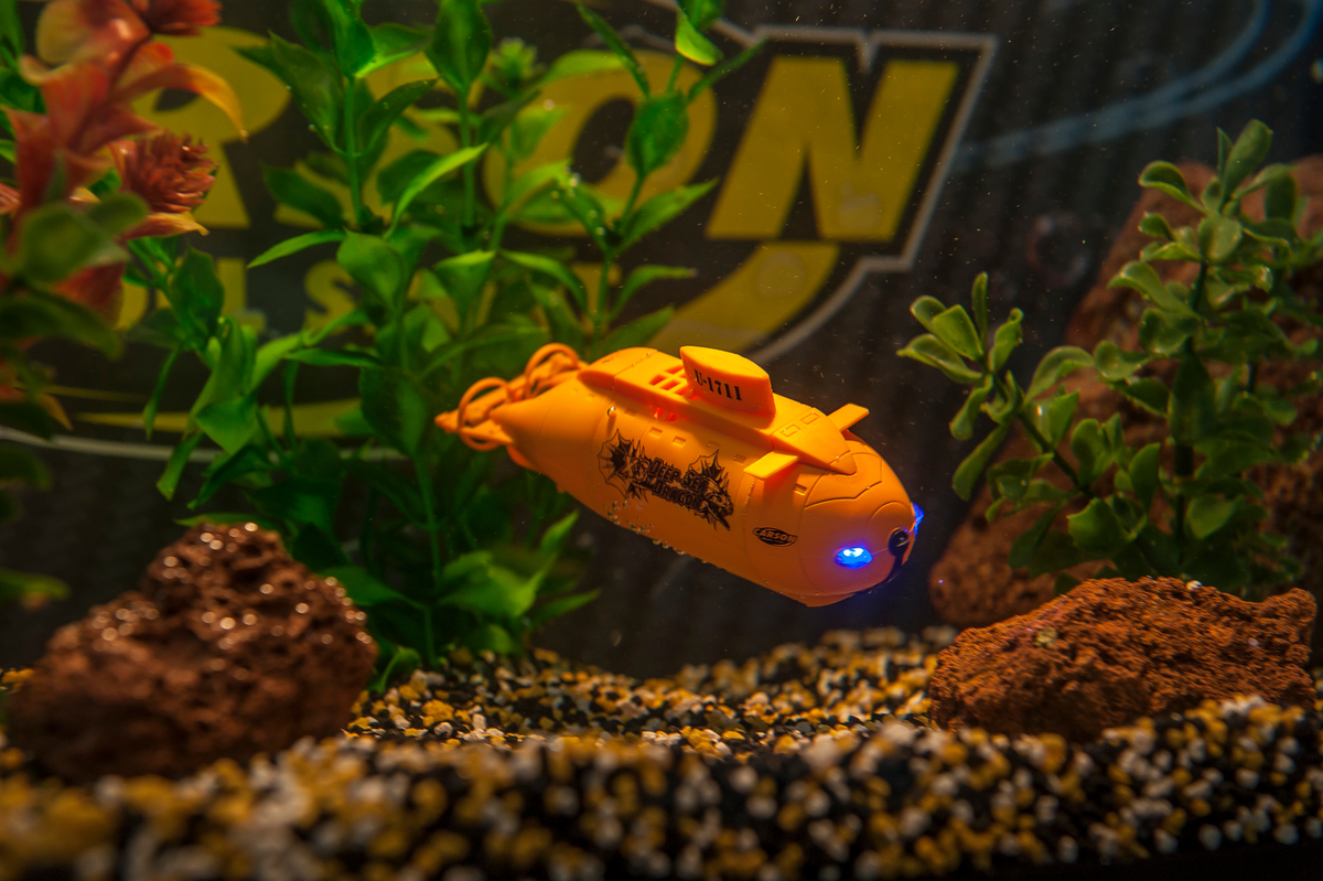 XS Deep Sea Dragon ponorka, LED, 100% RTR