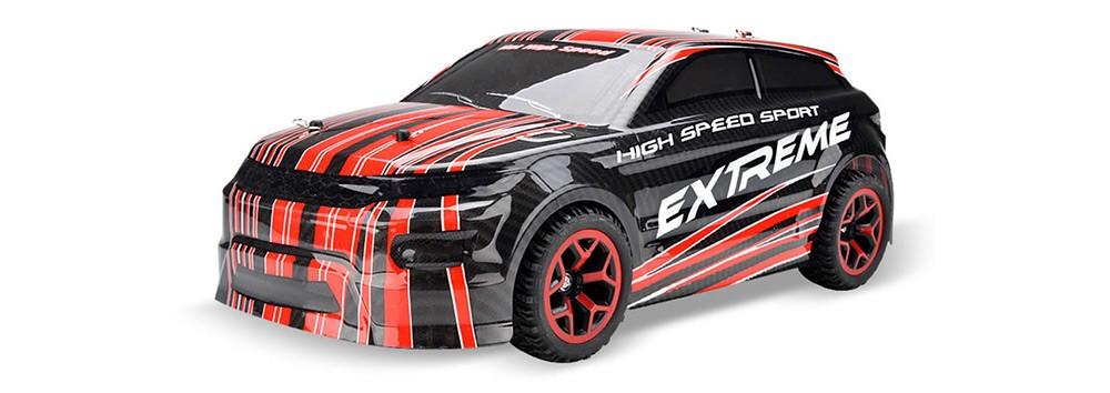 Auto X-Knight 1:18 RTR 4WD ČERVENÁ PROPORCIONÁLNÍ JÍZDA