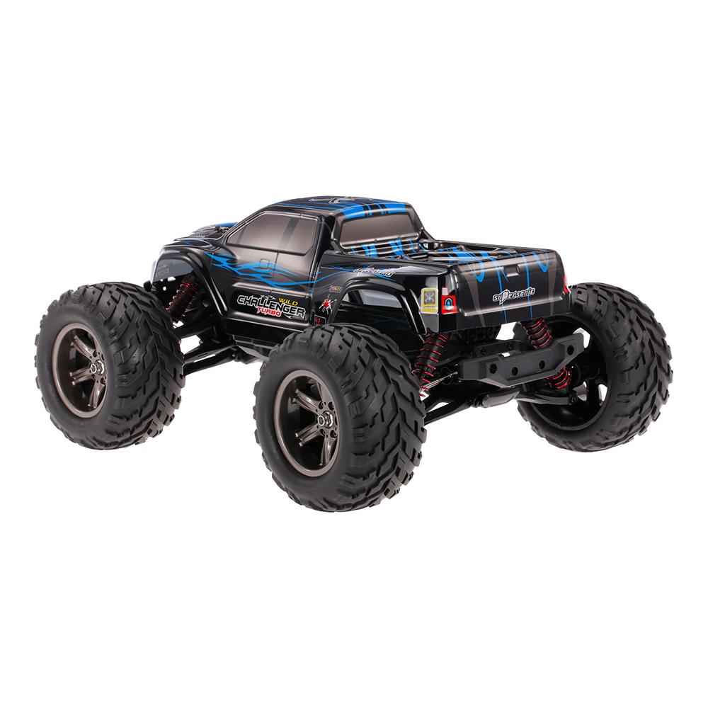 Monster Truck 1:12, 42km/h+ s akupackem RTR IP4 modrá