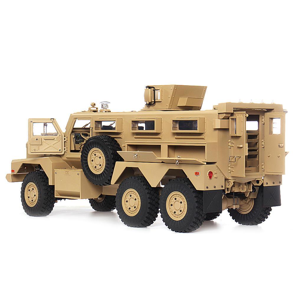 COUGAR MRAP US Explosion-Proof Car 6x6 1:12, NAVIJÁK, LED, ZVUKY, RTR